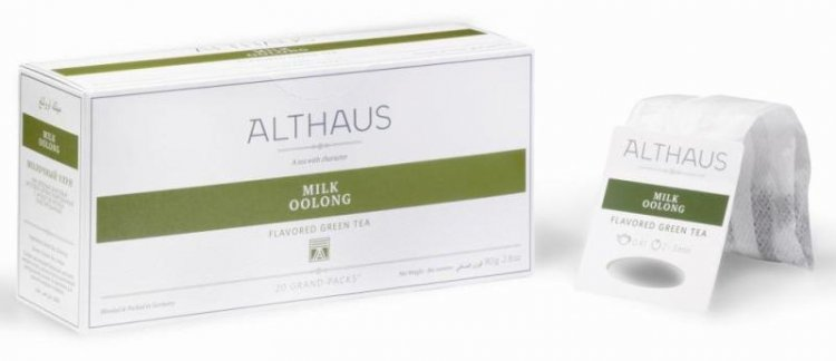Чай в пакетиках для чайника Althaus Milk Oolong
