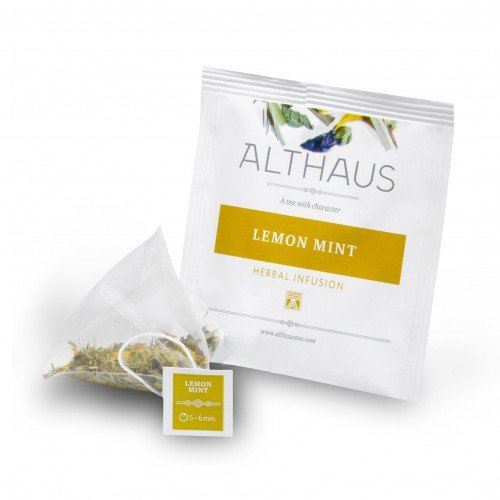 Чай в пирамидках Althaus Lemon Mint
