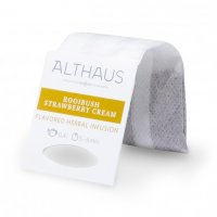 Чай в пакетиках для чайника Althaus Rooibush Strawberry Cream