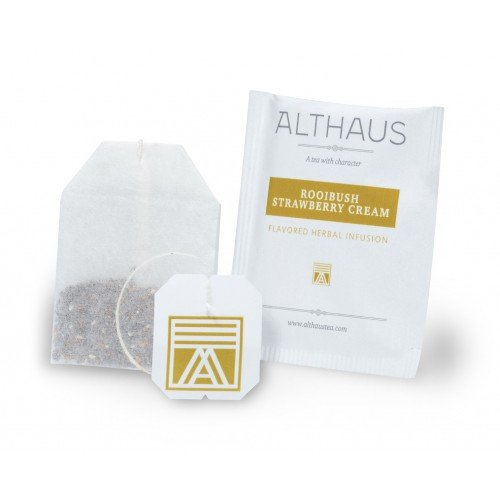 Чай в пакетиках Althaus Rooibush Strawberry Cream