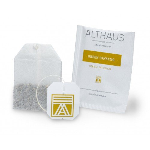 Чай в пакетиках Althaus Green Ginseng