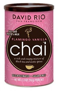 Пряный чай-латте David Rio Flamingo Vanilla Decaf Sugar-Free Chai