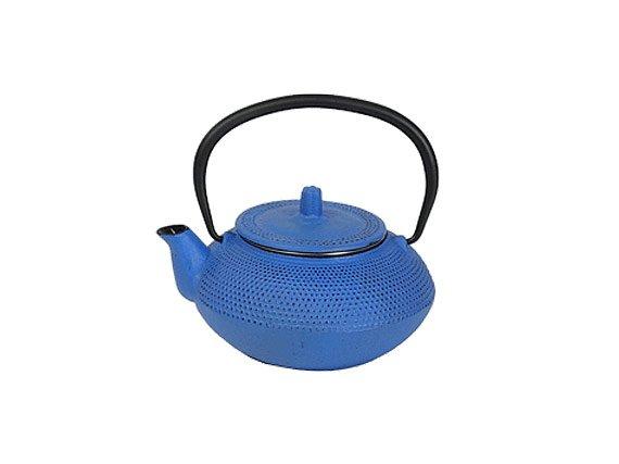 Чайник чугунный с ситом Сеул РЧК (0.55 л синий)