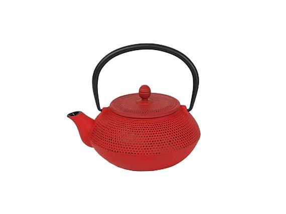 Чайник чугунный с ситом Сеул РЧК (0.3 л красный)