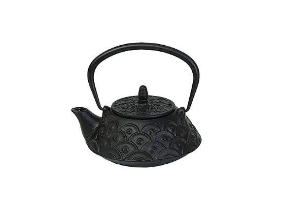 Чайник чугунный с ситом Османтус РЧК (0.9 л черный)