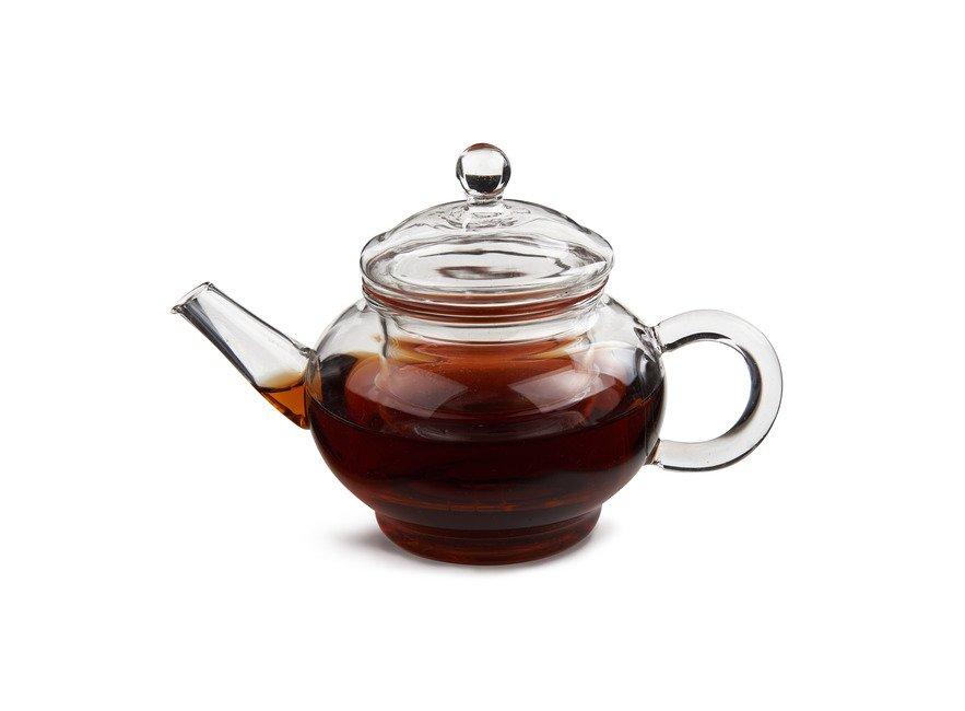 Стеклянный чайник Ирга Slon