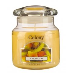 Свеча ароматическая в стеклянной банке Спелый манго Wax Lyrical