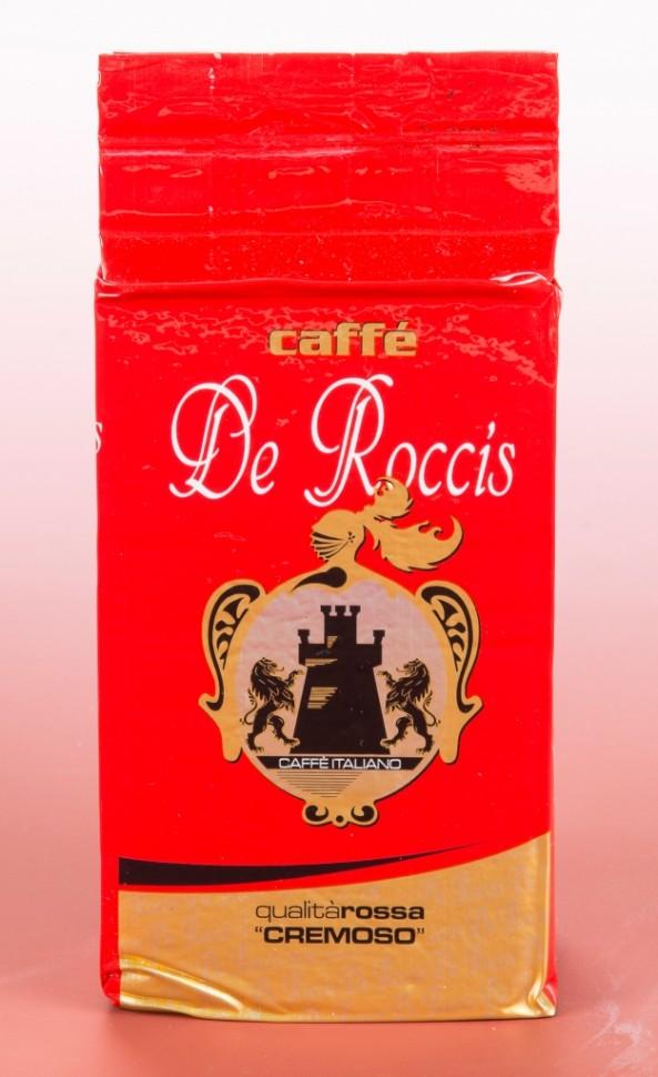 Кофе молотый Caffe De Roccis Rosso