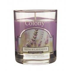 Свеча ароматическая в стеклянном стакане Французская лаванда Wax Lyrical