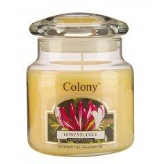 Свеча ароматическая в стеклянной банке Цветущая жимолость Wax Lyrical