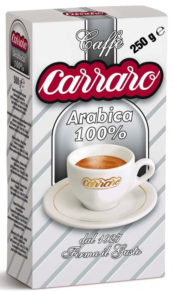 Кофе молотый Carraro Arabica 100%