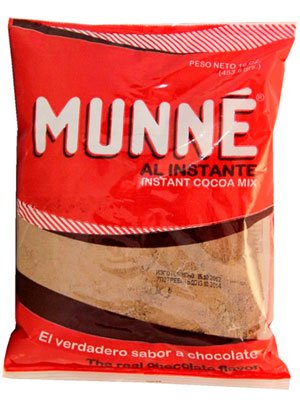 Какао Munne Al instante с сахаром в пакете