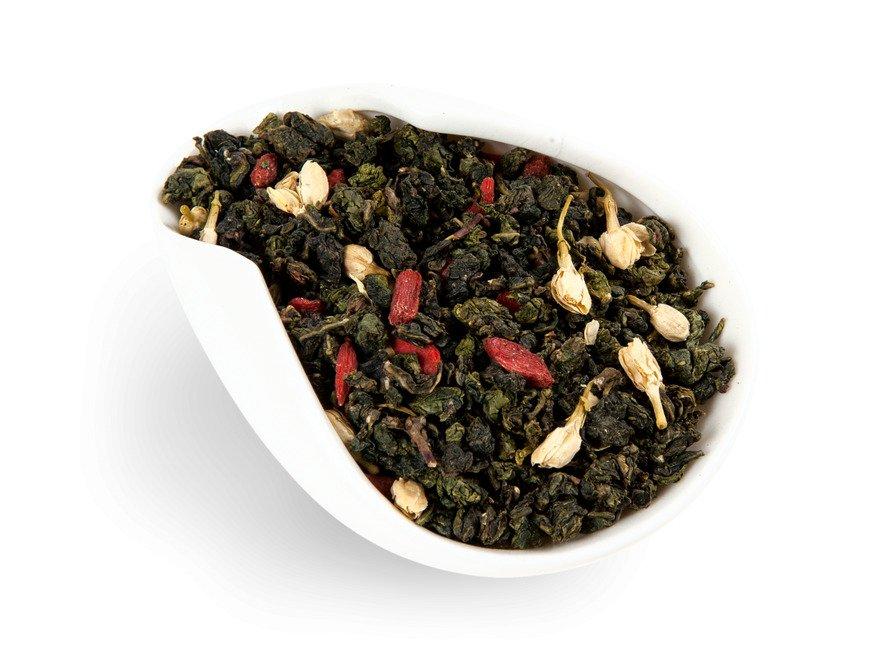 Чай Те Гуань Инь с ягодами годжи и жасмином (100 г)
