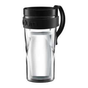 Кружка дорожная Bodum Travel H2O (черный)