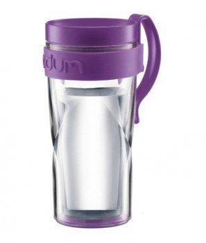 Кружка дорожная Bodum Travel H2O (фиолетовый)