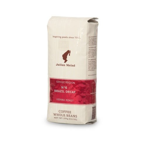 Кофе в зернах Julius Meinl №6 Brazil Decaf