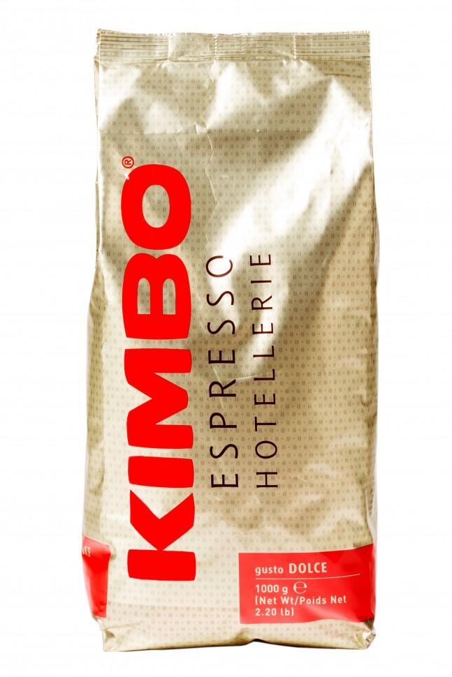 Кофе в зернах Kimbo Hotellerie Dolce