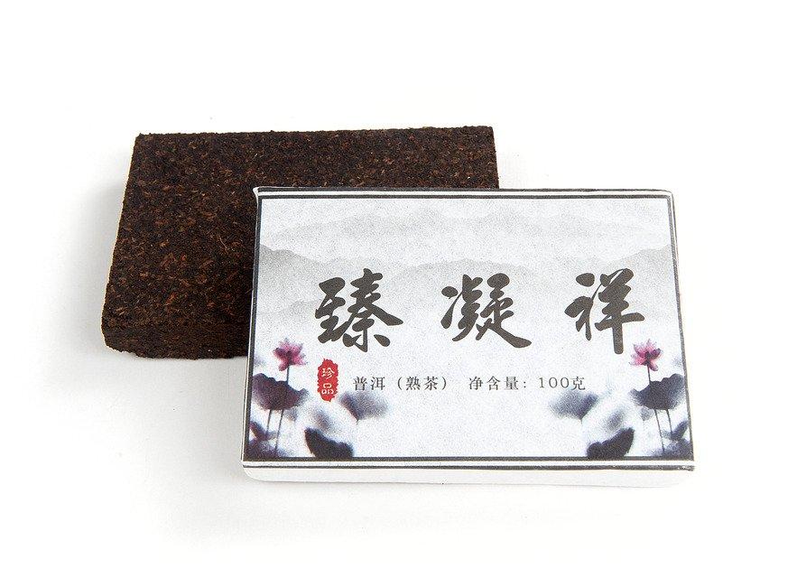 Чай Гун Тин Пуэр Рассветный лотос из Юндэ