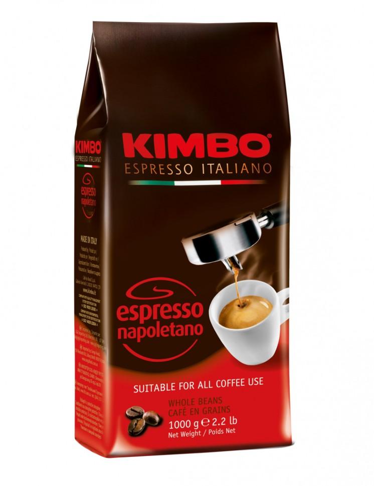 Кофе в зернах Kimbo Espresso Napoletano (500 г)