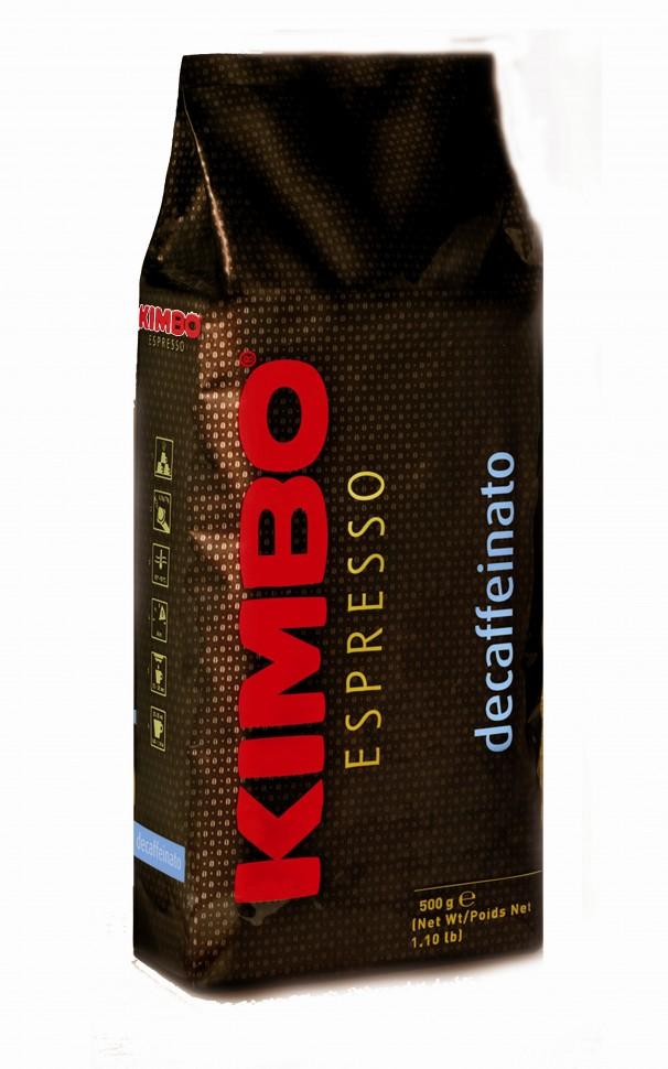 Кофе в зернах Kimbo Decaffeinato