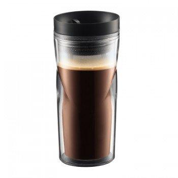 Кружка дорожная Bodum Travel Mug (черный, 350 мл)