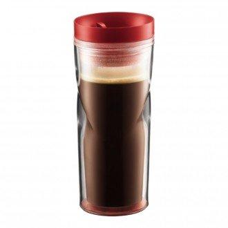 Кружка дорожная Bodum Travel Mug (красный, 350 мл)