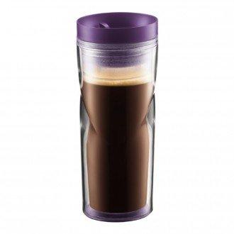 Кружка дорожная Bodum Travel Mug (фиолетовый, 450 мл)