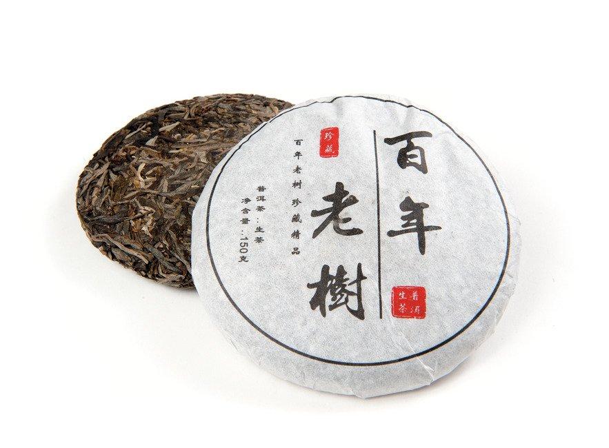 Чай Шен Пуэр Старое Дерево