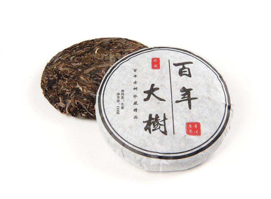 Чай Шен Пуэр Большое Дерево