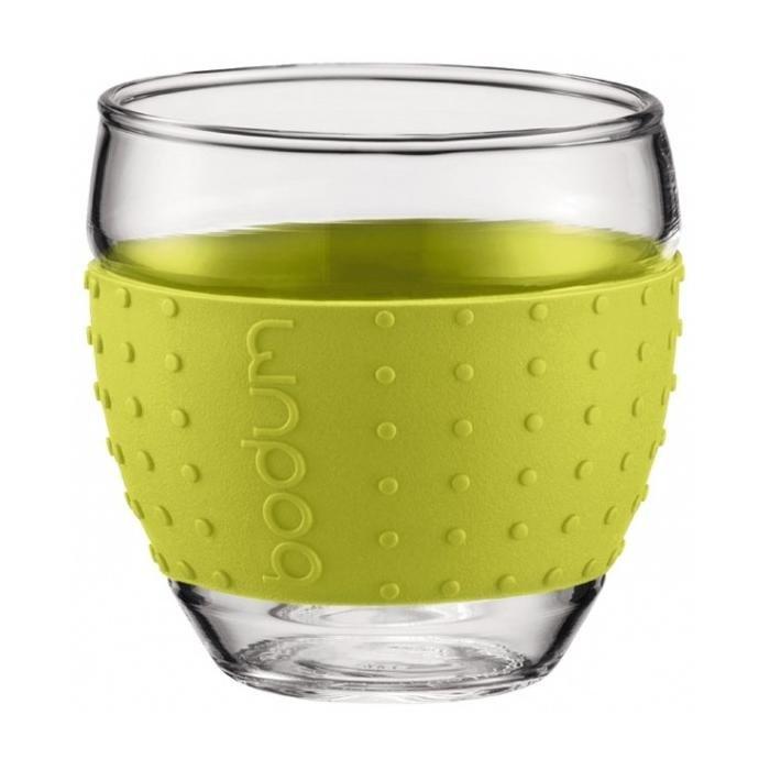 Набор термобокалов BODUM Pavina (зеленый)