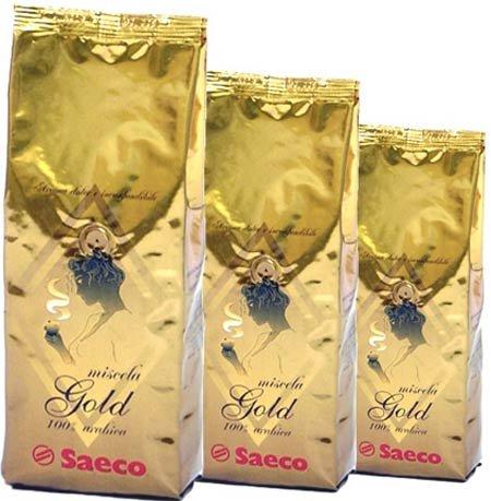 Кофе в зернах Saeco Gold (250 г)