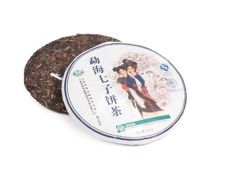 Коллекционный Чай Шен Пуэр Ци Цзе Бин