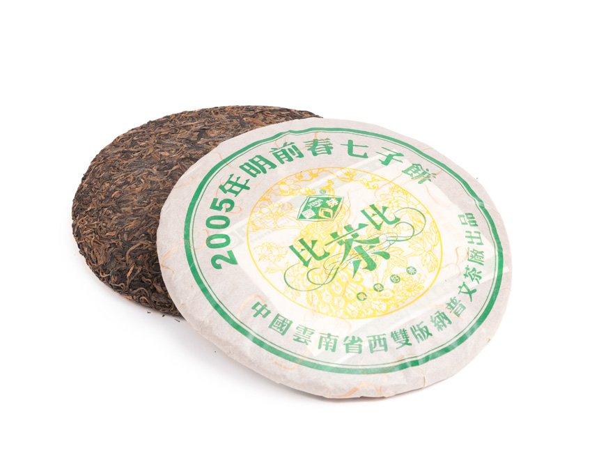 Коллекционный Чай Шен Пуэр Мин Цин Чун Бин