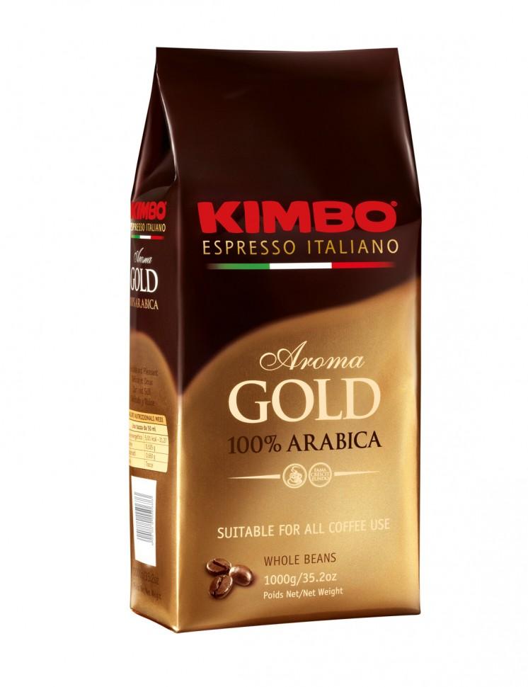 Кофе в зернах Kimbo Arabica Gold (500 г)