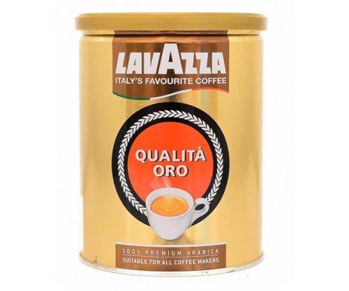Кофе молотый в банке Lavazza Oro