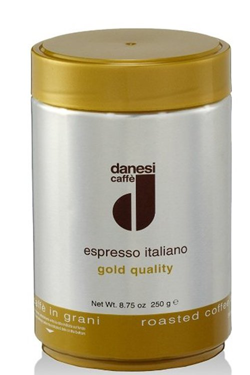 Кофе в зернах банке Danesi Gold