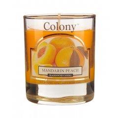 Свеча ароматическая в стеклянном стакане Мандарин и персик Wax Lyrical