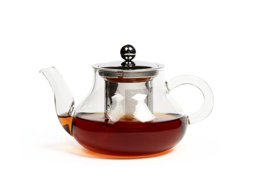 Стеклянный чайник с колбой Годжи Slon